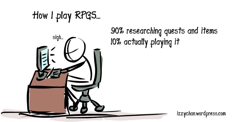 how I play rpgs