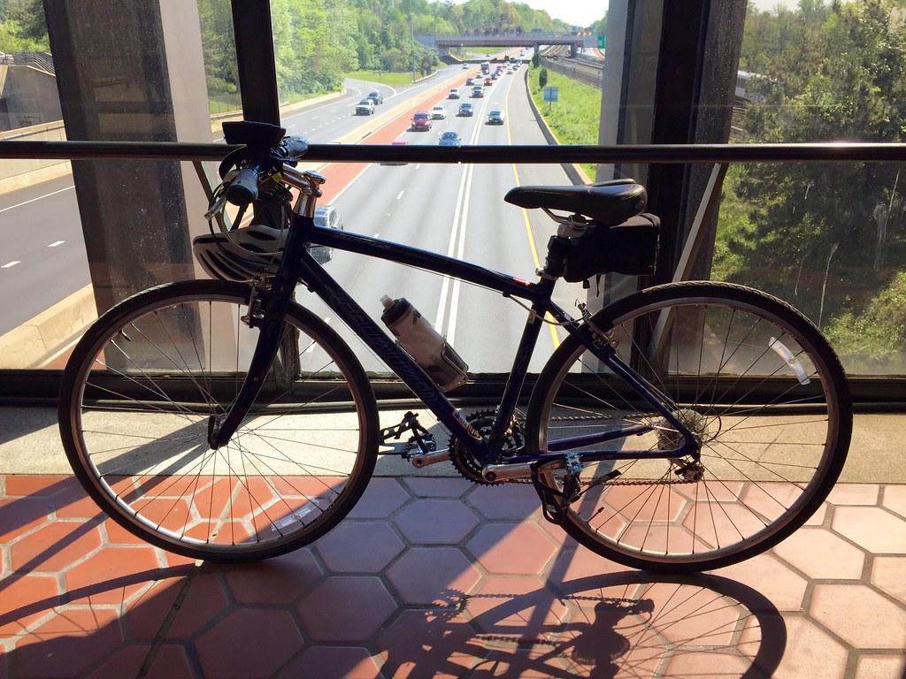 Bike over I-66