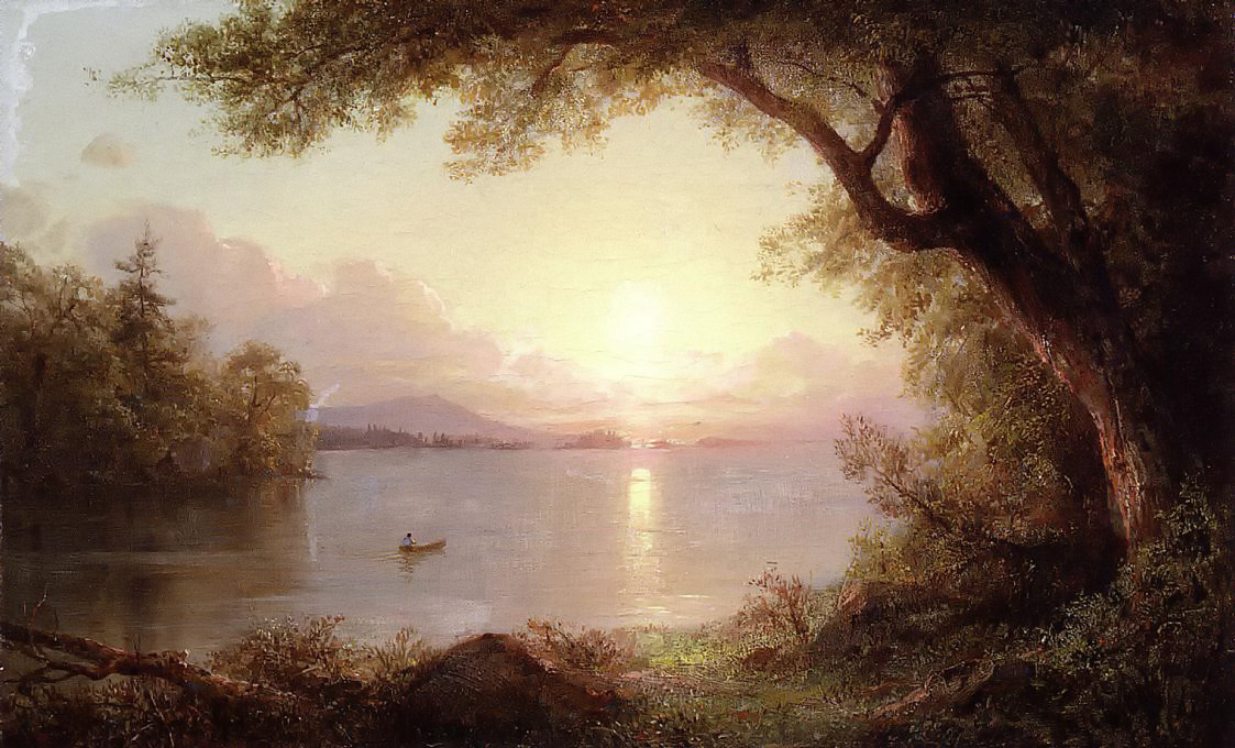 Landscape in the Adirondacks by Frederic Edwin Church