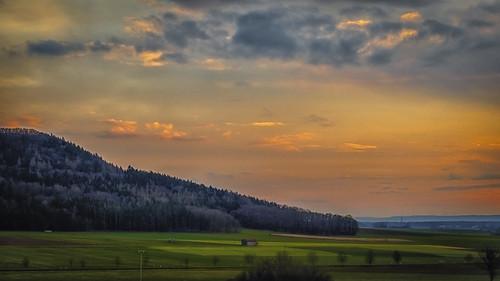 Impression of sunset
