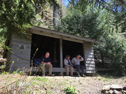 Star Creek shelter