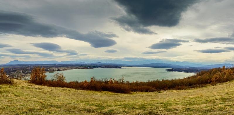 Ogosta dam lake