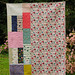 Honeymoon Quilt - back by Huntspatch Quilts
