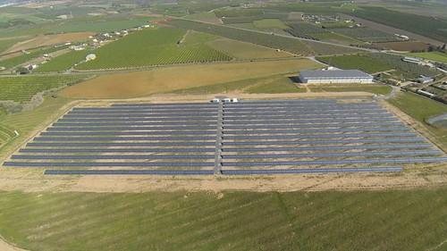 Planta solar fotovoltaica de Som Energia en Alcolea del Rio, Sevilla