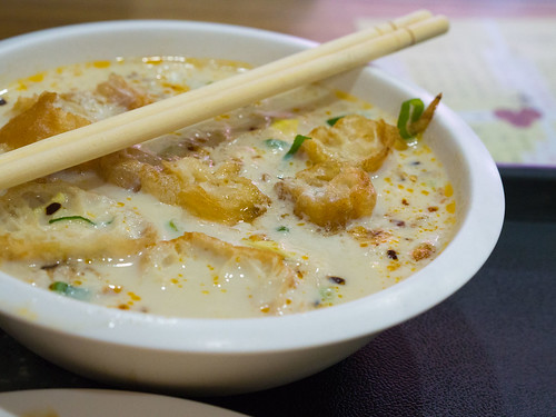 興隆居の鹹豆漿