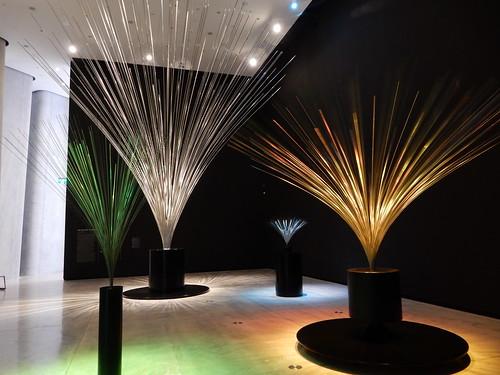 Inside Len Lye Gallery