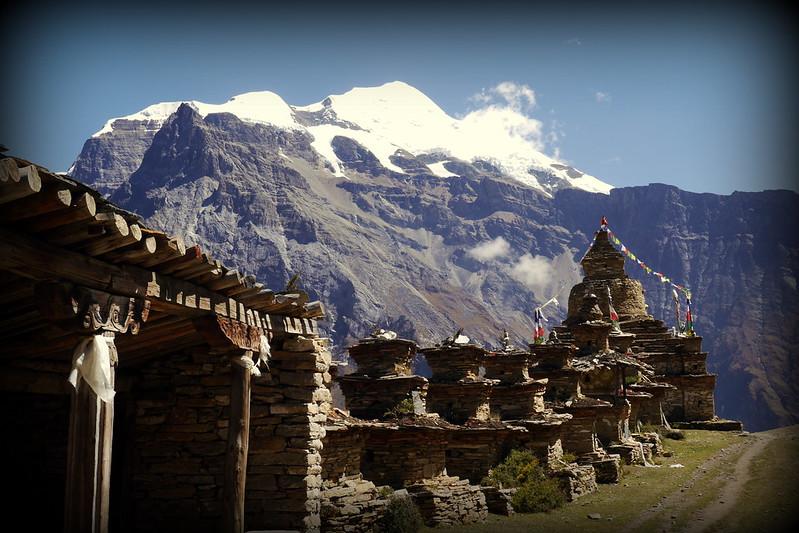 Stupas en Route