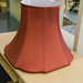 Wine fabric lamp shade
