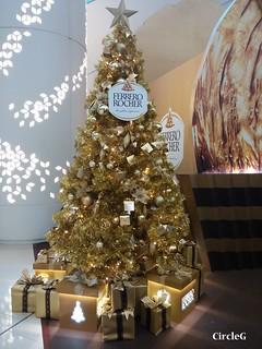 ISQUARE hongkong TST 尖沙咀 金莎 2015 CIRCLEG 聖誕裝飾 (2)