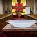 Day 14- Baptismal font, Holy Cross Episcopal by Wishard of Oz