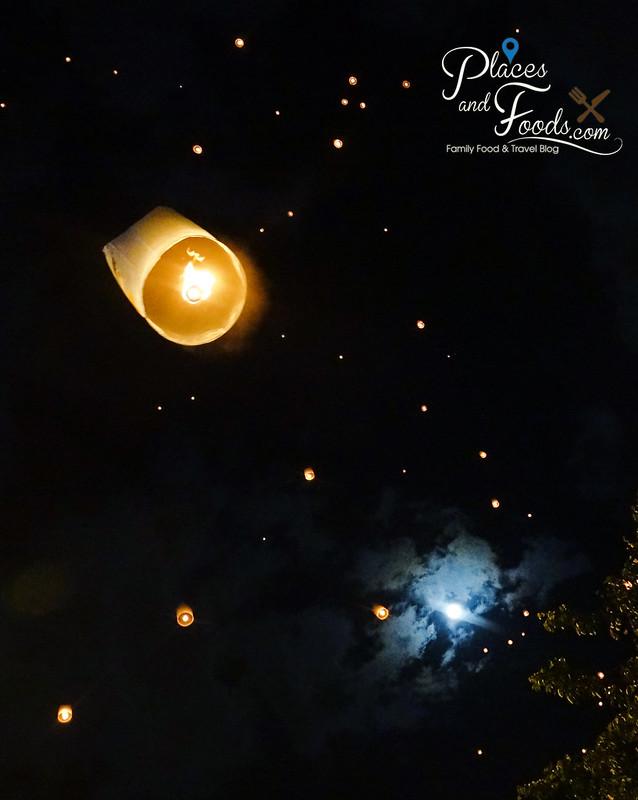 chiang mai yee peng with moon