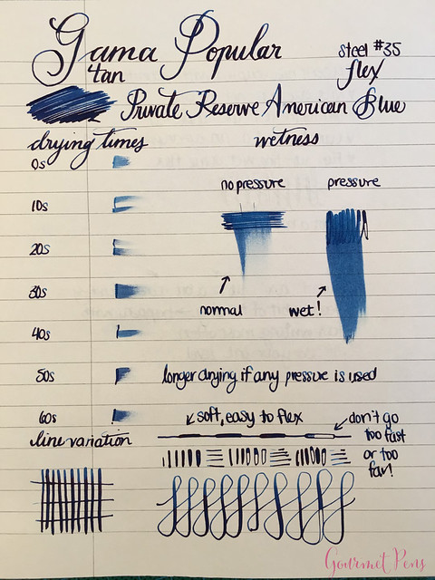 Review Gama Popular Fountain Pen - Flex @FPRevolution (11)