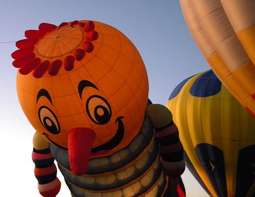 Hot Air Balloon Light Up at Mancos, US