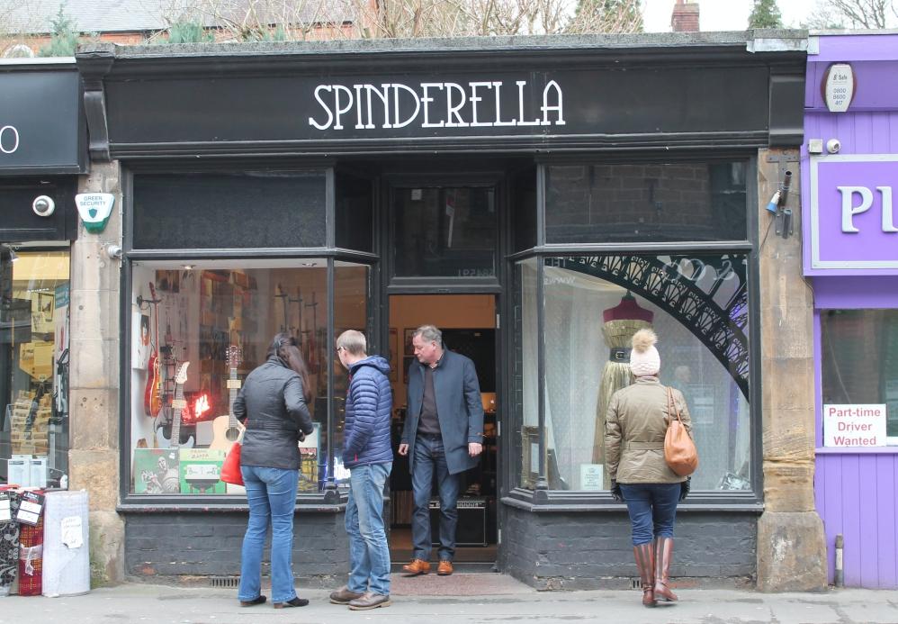 Spinderella, Matlock