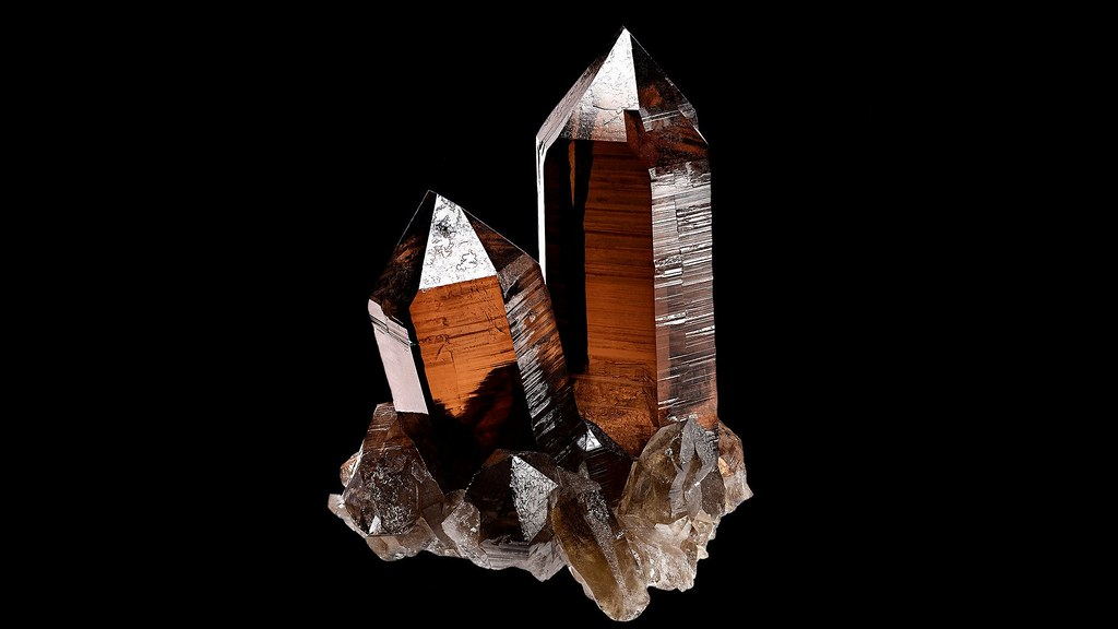 Druse Smoky Quartz