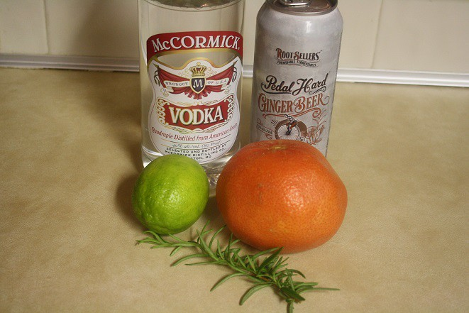Grapefruit Rosemary Mule