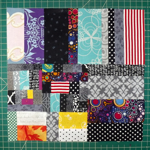 Found Fabric Progress 05