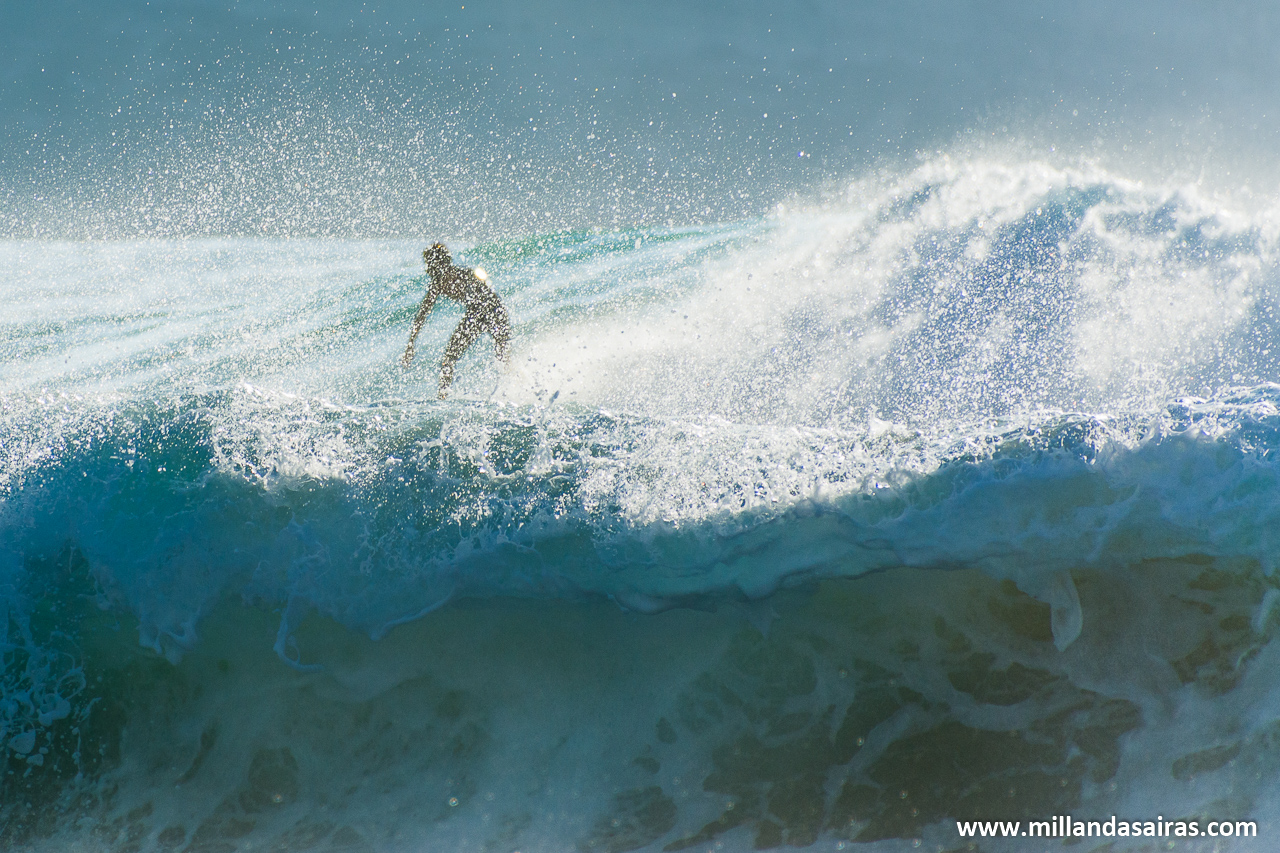 Esta ola que se escapó!