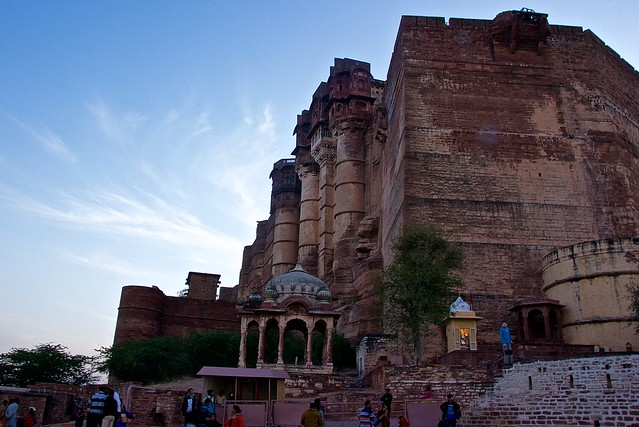 Magnificent Mehrangarh fort