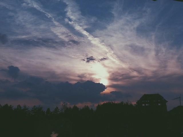 Sunset on Zlatibor