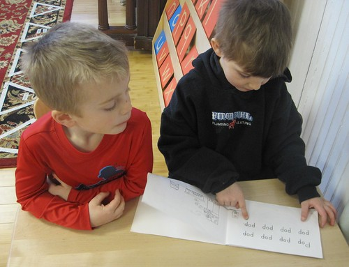 "reading ""Popcorn"" using one-to-one correspondence"
