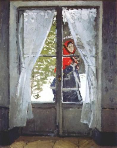Claude Monet - The Red Cape