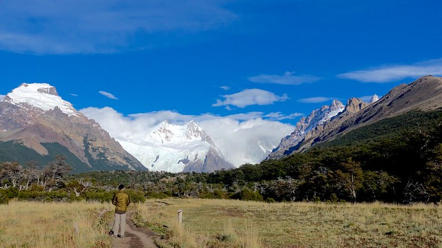 Towards Cerro Torre