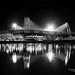 Weserstadion schwarz weiß by Tanja Arnold Photography