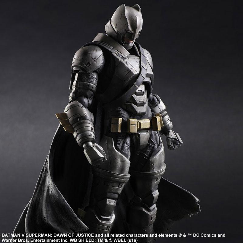 Play Arts 改【重裝蝙蝠俠。Armored Batman】蝙蝠俠對超人:正義曙光