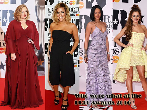 Who wore what at the BRIT Awards 2016
