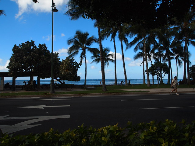 PB290512 ハワイ ワイキキビーチ サンセット hawaii waikiki beach sunset ひめごと ヒメゴト