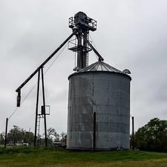 Old grain silo near Wolf City, Texas.  #snaptexas #instagramtexas #texasinstagram #Texas #igtexas #vanishingtexas #ig_countryside #texas_ig #ruralexploration #rural #rsa_rural #abandoned #abandoned_junkies #grime_lords  #wolfcity #jj_lonestartx #jj_abando