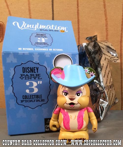 Disney Vinylmation Park 12 Teddi Berra Figure - Country Bear Collector Show #009