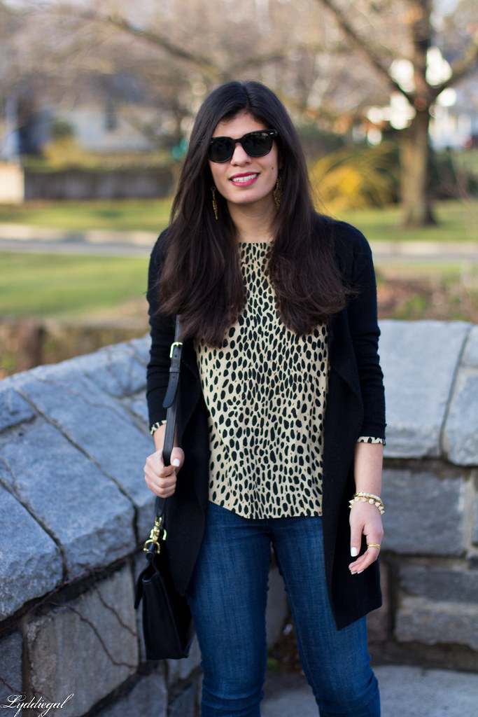 leopard tunic, black cardigan, coach bag-1.jpg