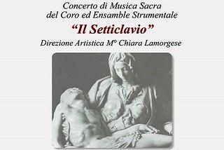 Noicattaro. Concerto Il Setticlavio front