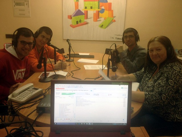 Primeras emisiones Radio CECAP (12 de abril de 2016)