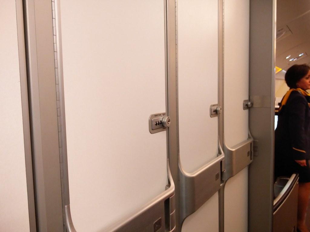 Lockers onboard