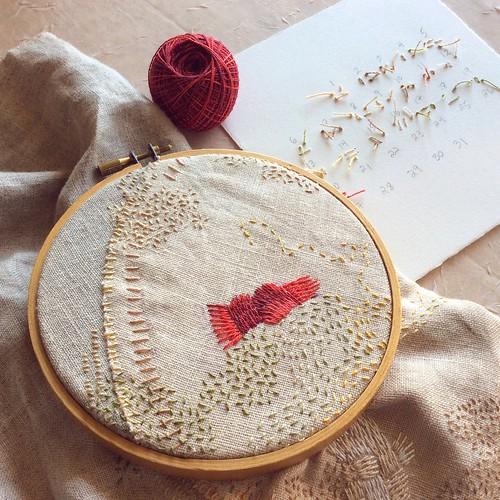 Stitch Journal, Day 80