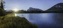 Morning in Banff