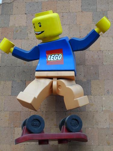 Lego Man Kickflip
