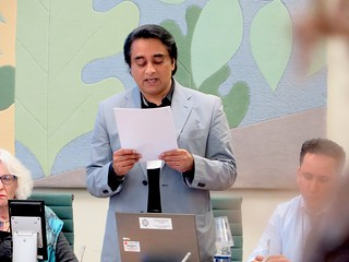 "Actor Sanjeev Bhaskar reads from ""Guantánamo Diary"" by Mohamedou Ould Slahi"