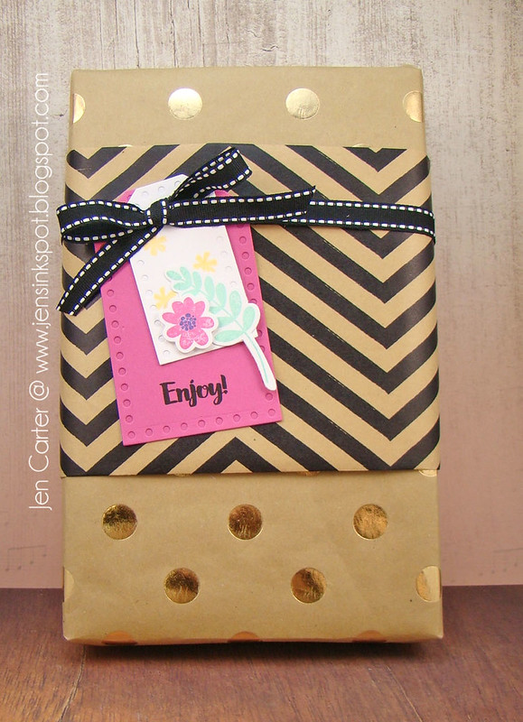 Jen Carter Fresh Cut Florals Gift Tag 5