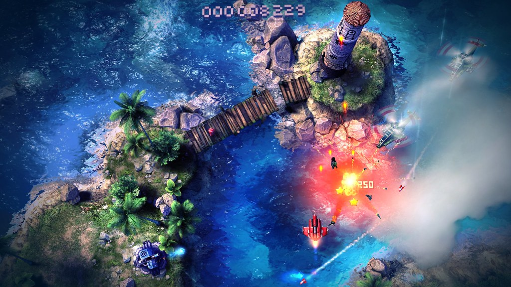 Sky Force Anniversary on PS4, PS3, PS Vita