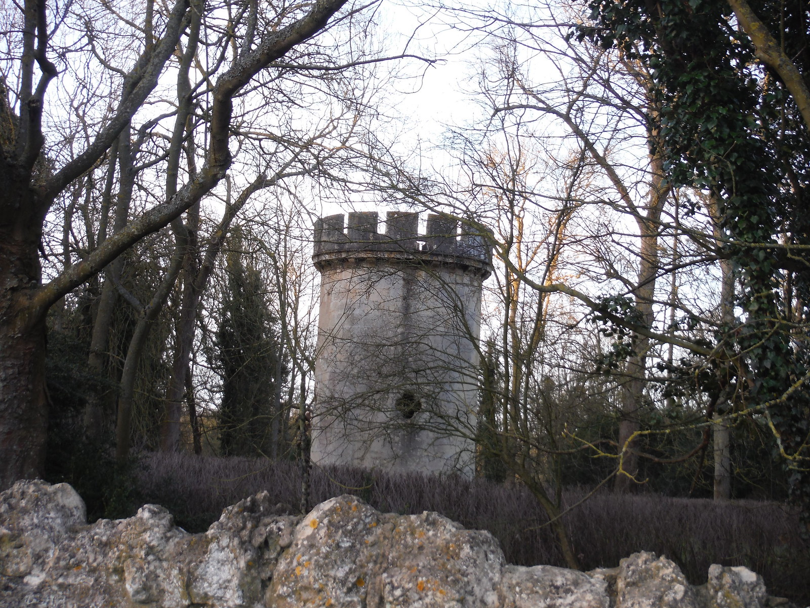 Tower in grounds of Hartwell House SWC Walk 193 Haddenham to Aylesbury (via Gibraltar and Ford)