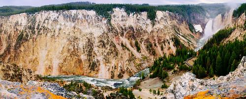 Grand Canyon of Yellowstone Panorama
