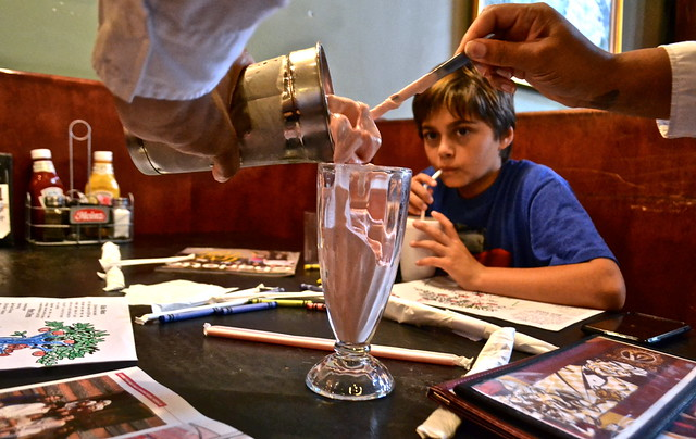 milk shakes - Restaurants in Charlotte - Pike's Old Fashioned Soda Shop