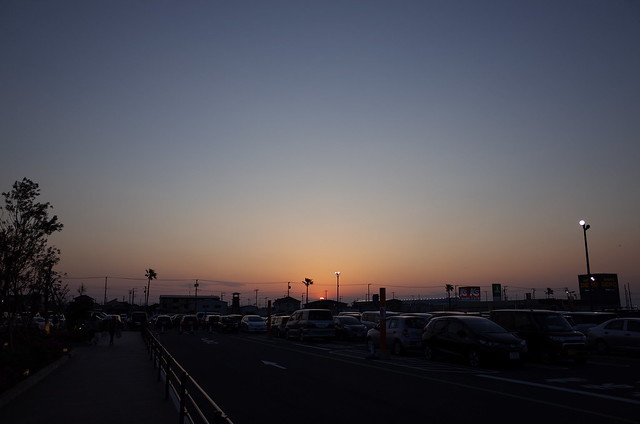 Sunset in Kisarazu