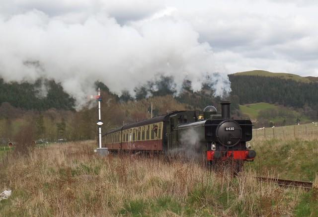 Ex GWR Pannier No 6430