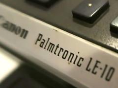 Taschenrechner von 1972 (Palmtronic)