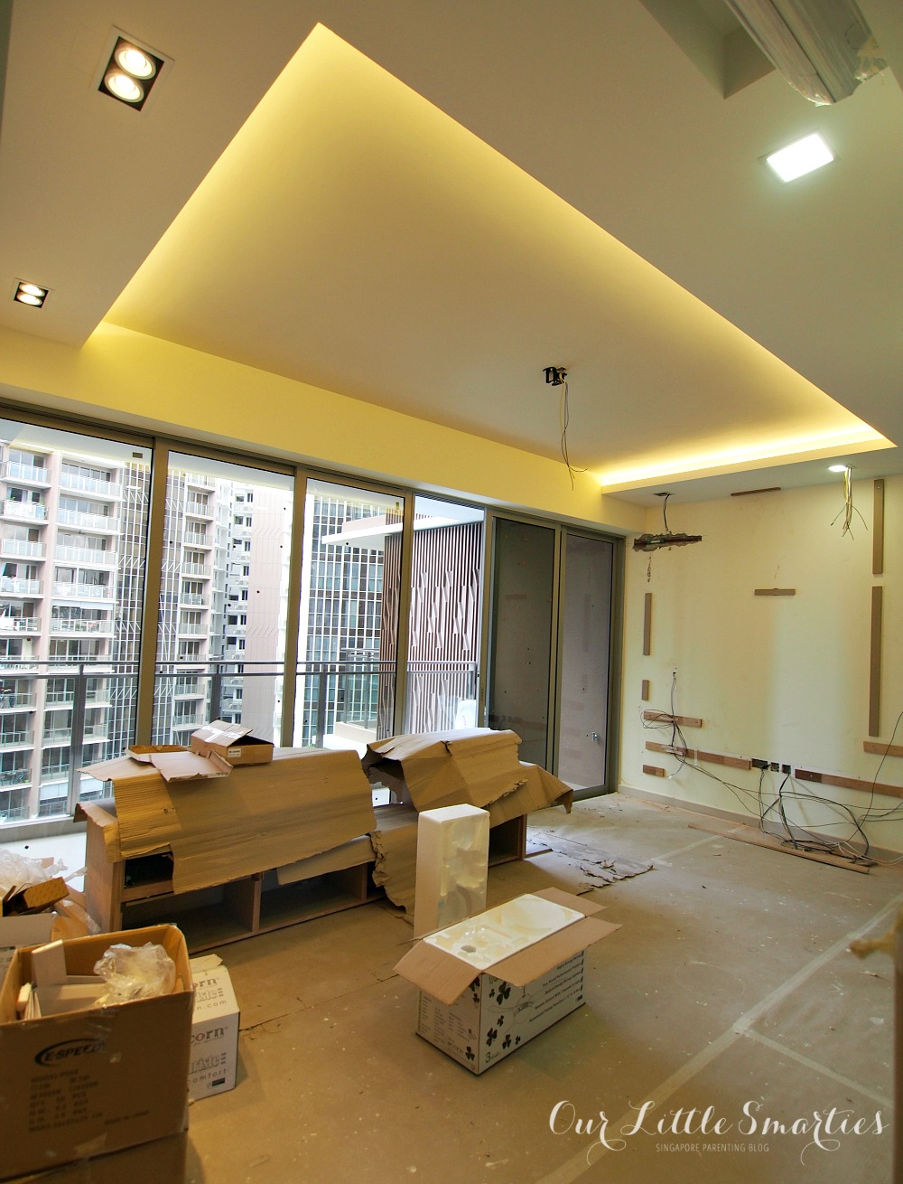 Bartley residences renovation part 2 carpentry and for Condo ceiling design